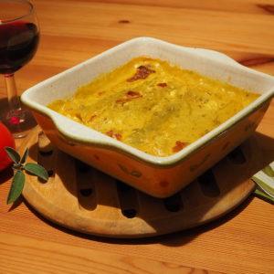 Vegisto's vegane Cannelloni mit Spinat