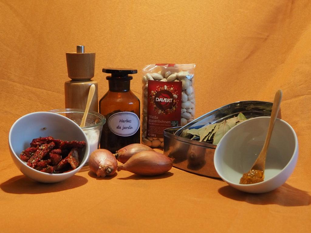 724 Italienische weiße Bohnen-Antipasti: Zutaten